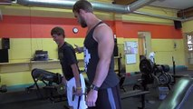 Teen Beginners Bodybuilding Training - Legs Workout