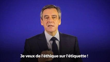 #SIA2017 Message de François Fillon aux agriculteurs