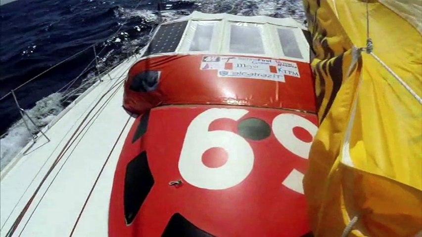 J114 : Sébastien Destremau à moins de 2000 milles de l'arrivée / Vendée Globe