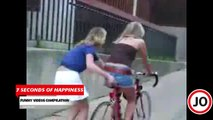 girls fails compilation of 7 seconds videos by 7 second of happiness FUNNY Video