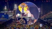 Brésil : la plateforme d'un char s'effondre au carnaval de Rio et fait onze blessés