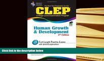 Popular Book  CLEP Human Growth and Development 8th Ed. (CLEP Test Preparation)  For Full