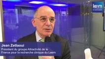 Essai clinique et attractivité de la France : interview de Jean Zetlaoui