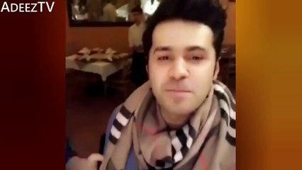 """See How Actor Saim Ali is Teasing Neelum Munir By Singing """"Mahi Ve"""""""