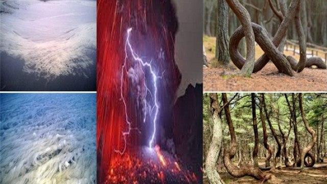 8 Hiện tượng thiên nhiên kì lạ khiến con người không lý giải được! Chuyện lạ Việt Nam