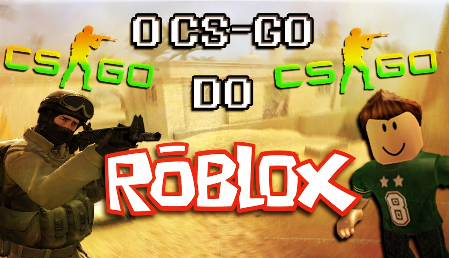 O CS-GO GRÁTIS ? - COUNTER- BLOX ROBLOX OFFENSIVE