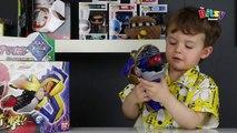 RIBBITING FROG GUN!! Ninninger Gama Gama Gun toy review! Power Rangers Ninja Steel