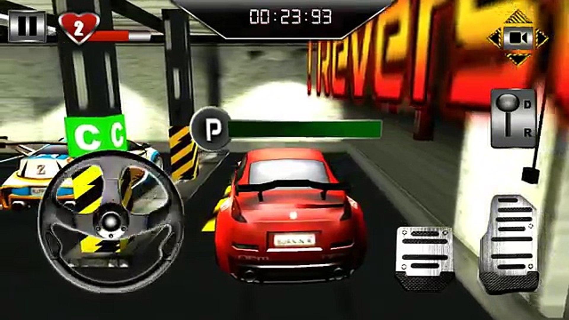 Гараж парковка 3D андроид геймплей HD