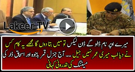 Inside Story of Meeting Between Ishaq Dar and Qamar Bajwa