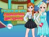 Congelados Hermanas En El Cine Elsa Y Anna De Maquillaje De La Princesa De Disney Juegos Para Chicas