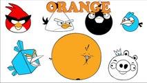 Angry Birds Páginas Para Colorear Para Aprender Los Colores Espacio De Angry Birds Star Wars Película Colorín