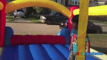 Little Tikes Bouncer Family Fun Playtime Giant Ball Pits Disney Cars Toys Egg Surprise