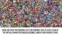 10 Celebs Who Look Like Pokémon Characters