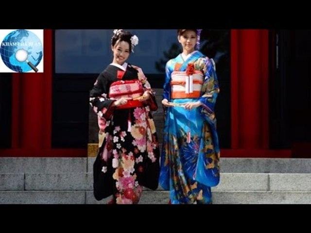 Vì sao con gái Nhật mặc Kimono