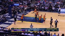 Vince Carter heated up with Suns Shoves Devin Booker