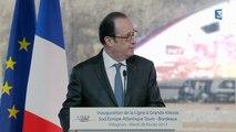 Le bruit d'un coup de feu vient interrompre le discours de François Hollande