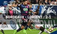 Coupe de France, 8es de finale : FCG Bordeaux - FC Lorient (2-1), le résumé