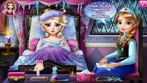 Disney Frozen Película De La Gripe Médico Compilación De Elsa, Anna, Olaf
