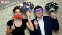 DIY - Tuto photobooth bulle en bois pour faire la fete ! Carnaval, party, soirées entre amis !