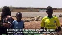Au Soudan, afflux de réfugiés sud-soudanais