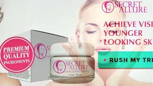 Secret Allure Cream Reviews Natural Anti Aging Skin Cream Does It