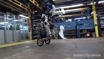 Handle, le robot au design les plus effrayants de Boston Dynamics