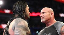 WWE 2017 OMG Match Roman Reigns VS Goldberg Face to face  Who will Win this Match WWE JK