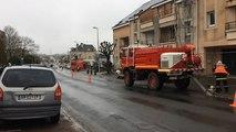 Fuite de gaz rue Saint-Denis
