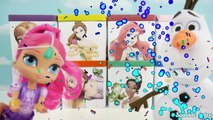 Принцессы Диснея слепыми мешками игрушки замороженные Эльза, Анна, Ариэль, Белль, Мулан