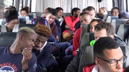 L'équipe de France en route pour Belgrade