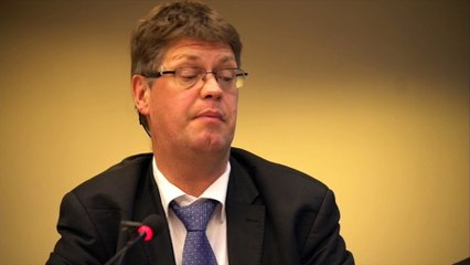 """"""" Transparency from the point of view of civil society"""" by Jan HAVERKAMP"""