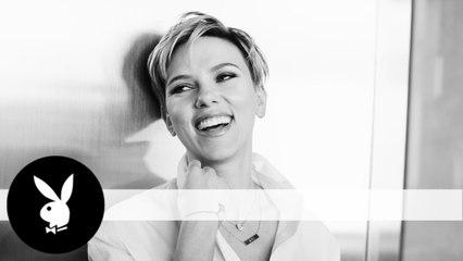 Go Behind the Scenes of Scarlett Johansson's Playboy Interview Shoot