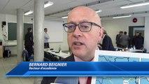 Hautes-Alpes : le recteur d'académie Bernard Beignier en visite à Briançon