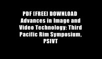 PDF [FREE] DOWNLOAD  Advances in Image and Video Technology: Third Pacific Rim Symposium, PSIVT