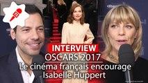 Oscars 2017: Omar Sy, Laurent Lafitte, Marina Foïs : ils sont tous derrière Isabelle Huppert