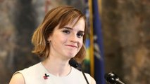 Emma Watson Gives Advice to Strangers in New York City