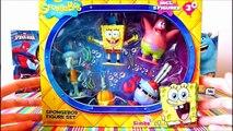 Spongebob Squarepants Figure Set Unboxing - Patrick Star, Squidward Tentacles, Sandy Cheeks Krabs