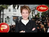 Cannes 2015 - Natacha Polony avec son mari monte les marches