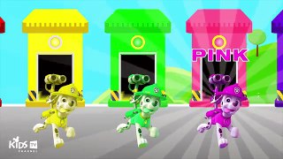 Marshall Paw Patrol Colors For Children To Learn Learning Co