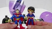 DCs WONDER WOMAN!! Play-Doh Surprise Egg Opening! Super Heroes Play-Doh Wonder Woman Pop Figure