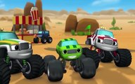 Blaze And The Monster Machines Full Episodes Cartoons Movies Kids 2017 - The Team Truck Challenge