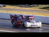 DRAG FILES: 2016 Langley Loafers Gasser Get Down Vintage Drags Part 6  (AA/Gas Final Qualifying)
