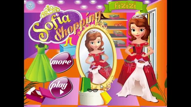 Princess Sofia Shopping - Sofia games video for kids