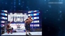 WWE John Cena vs Aj Styles vs Dean Ambrose - Crazy John Cena Destroy Aj Styles