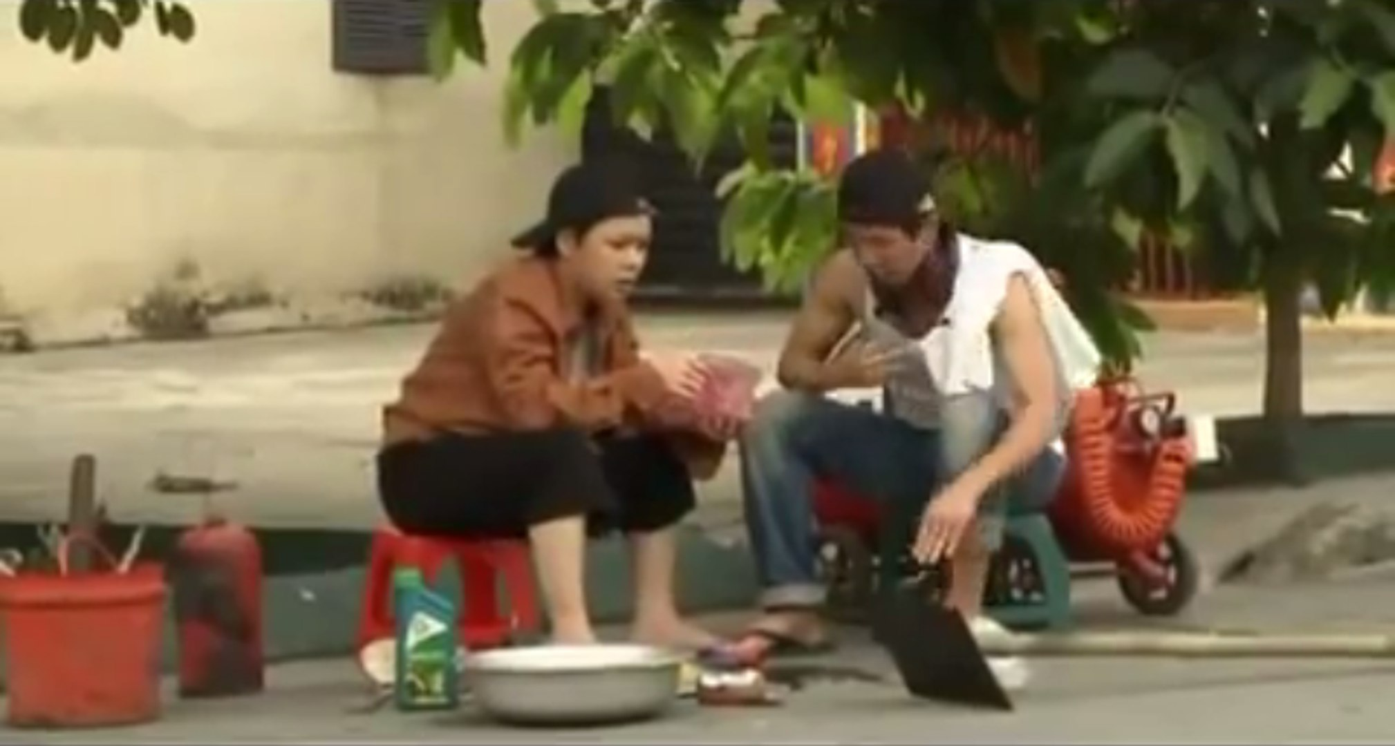 Hài Đinh tặc - Hoài Linh, Việt Hương, cười tét nách
