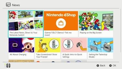 Vidéo Nintendo Switch  (News & eShop) de