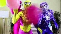 Superhéroes En la Vida Real, el Baile y el Canto de Las Ruedas En El Autobús de la Canción para Niños