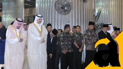 Kunjungan Raja Salman ke Masjid Istiqlal