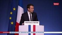 """REPLAY. Emmanuel Macron : """"Nous voulons les mêmes règles pour tous"""""""