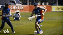 Jason Roy on facing an over in a match - Blog One from South Africa - YouTube